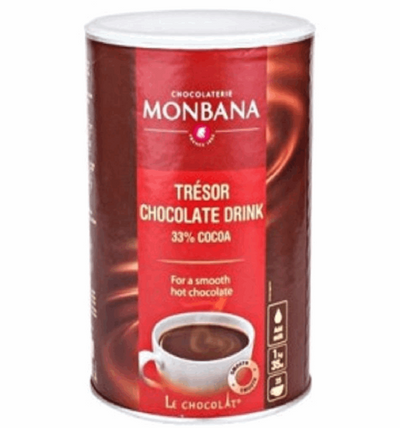 "Monbana Drinking Chocolate ""Tresor"" -1kg family pack 