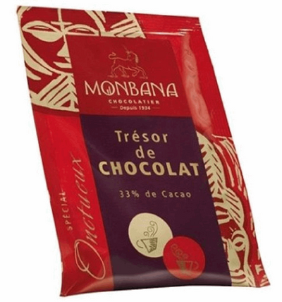 "Monbana ""Tresor de Chocolat""- Single Serving (25g) Sachets 