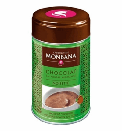Monbana Hazlenut flavoured Drinking Chocolate - 250g | High Teas