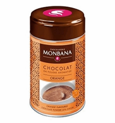 Monbana, Orange Flavoured Drinking Chocolate - 250g | High Teas