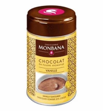 Monbana Vanilla Flavoured Drinking Chocolate - 250g | High Teas