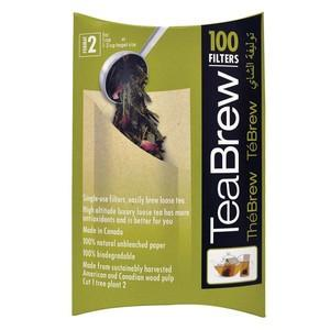 TeaBrew size 2 filters (100)