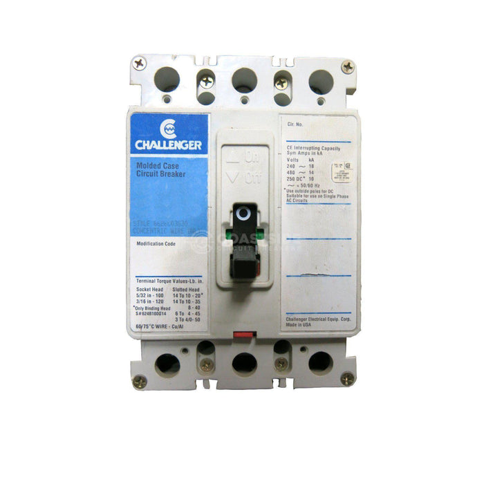 CFV3125L-Challenger / Cutler Hammer-Coastside Circuit Breakers LLC