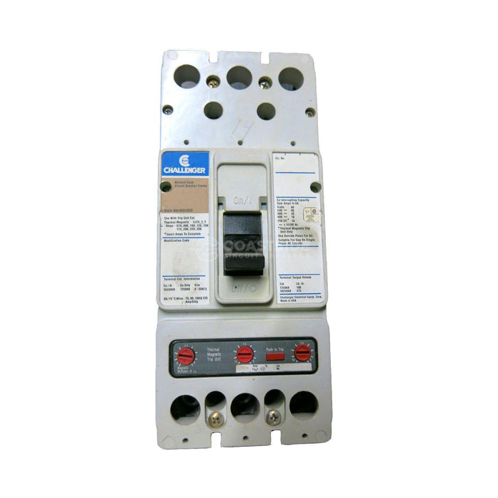 CJV2125-Challenger / Cutler Hammer-Coastside Circuit Breakers LLC