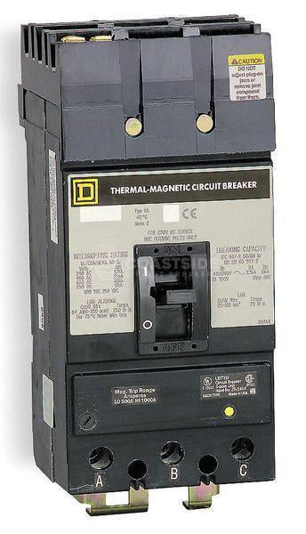 KAB36250-Square D / Schneider Electric-Coastside Circuit Breakers LLC