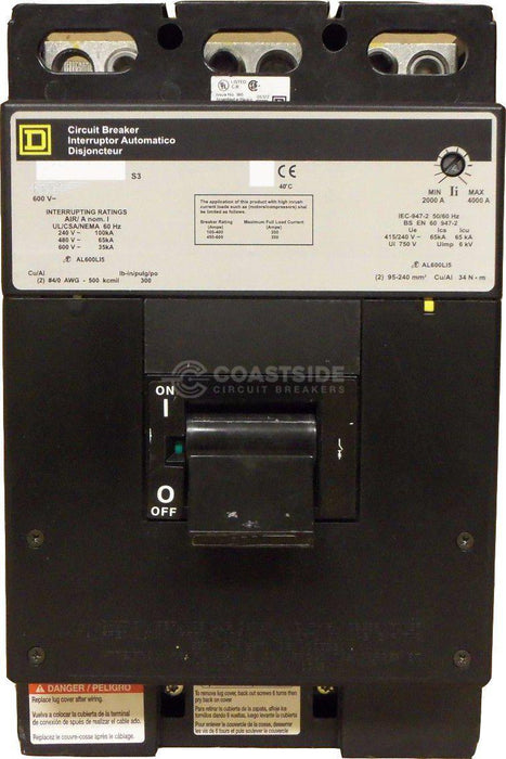 LIL36600-Square D / Schneider Electric-Coastside Circuit Breakers LLC