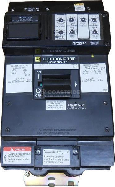 LX36125-Square D / Schneider Electric-Coastside Circuit Breakers LLC