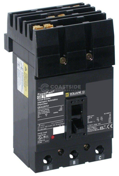 QBA32070-Square D / Schneider Electric-Coastside Circuit Breakers LLC