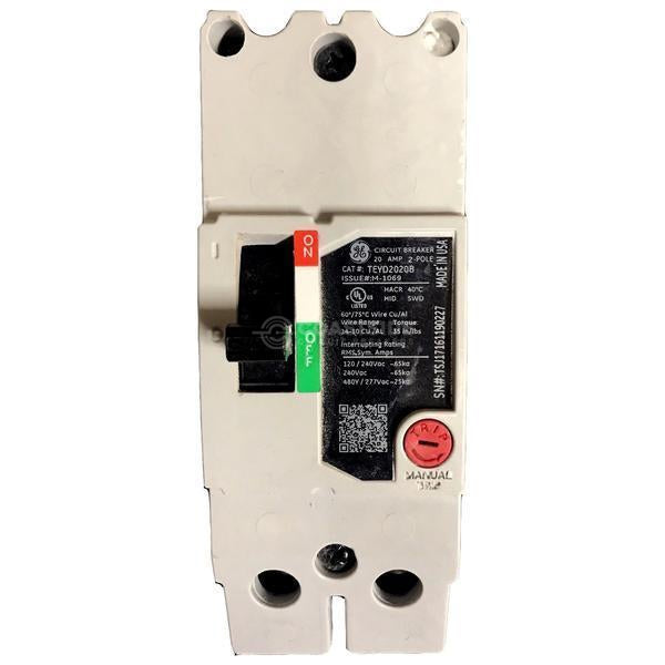 TEYH2080B-General Electric-Coastside Circuit Breakers LLC