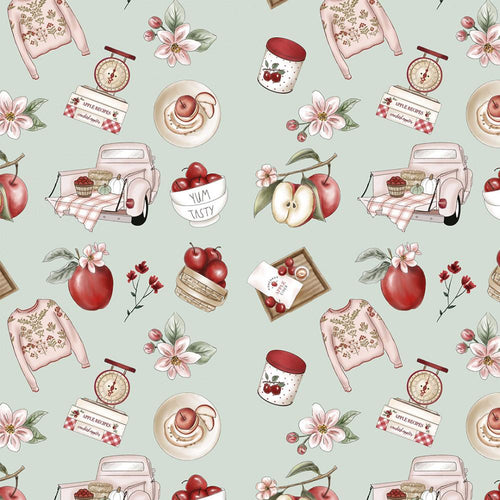 Red Blossom - Apples Recipes - Licence To Quilt