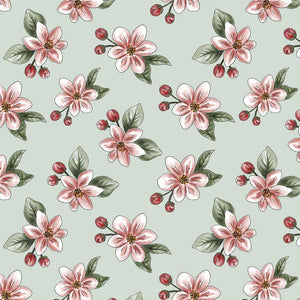 Red Blossom - Apple Blossom - Licence To Quilt