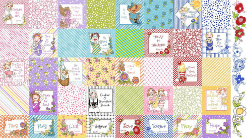 Joy Journey - Medley Fabric Panel - Licence To Quilt