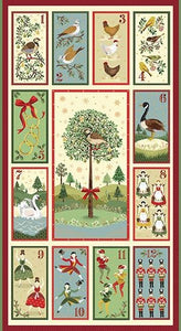 Twelve Days Of Christmas - Panel - Licence To Quilt