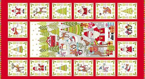 Festive - Decorative Panel - Licence To Quilt