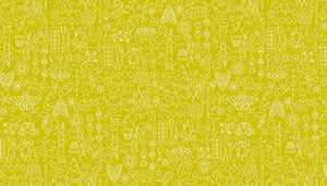 Sunprints 2019 - Collection Chartreuse - Licence To Quilt