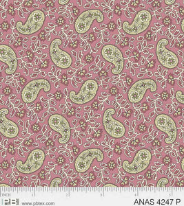 Anastasia - Paisley Pink - Licence To Quilt