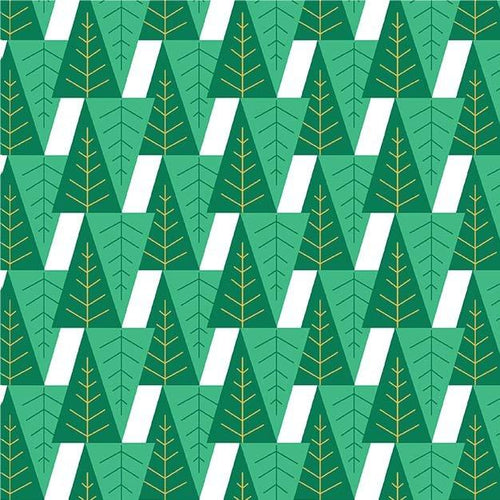 Gnome To Fa La La - Fa La La Tree Green - Licence To Quilt