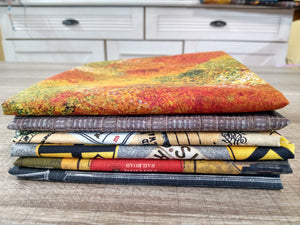 Autumn Steam - Fat Quarter (6) - Licence To Quilt