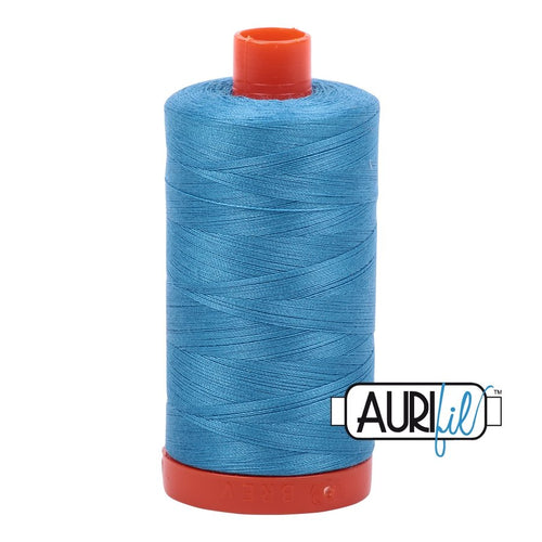 Aurifil - Mako Bright Teal - Licence To Quilt