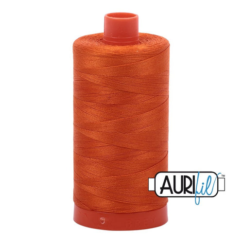 Aurifil - Mako Orange - Licence To Quilt