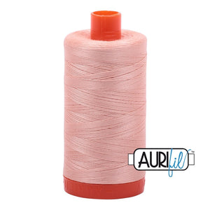 Aurifil - Mako Light Blush - Licence To Quilt