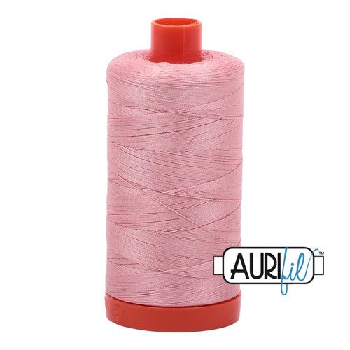Aurifil - Mako Light Peony - Licence To Quilt