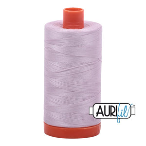 Aurifil - Mako Pale Lilac - Licence To Quilt