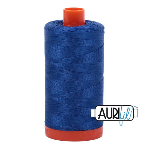 Aurifil - Mako Medium Blue - Licence To Quilt