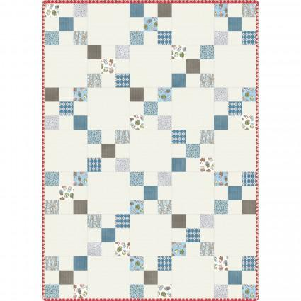Forest Friends Irish Chain Quilt Pod® - kit bébé quilt - Licence To Quilt