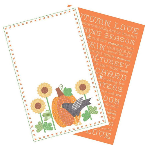 Autumn Love Tea Towel Set - Serviettes de table - Licence To Quilt