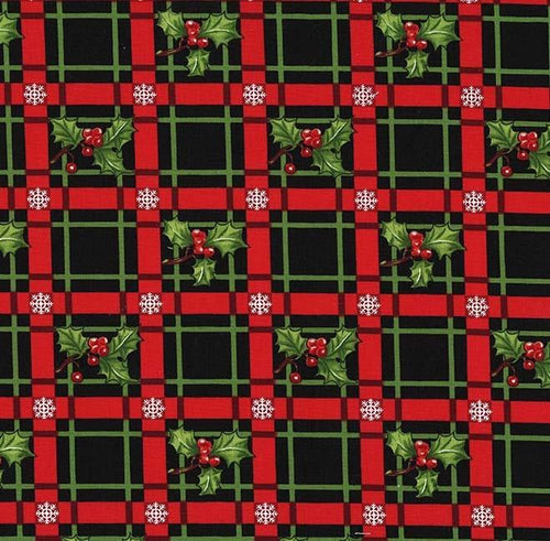 Happy Holly-Days - Holly-Day Plaid Garland - Licence To Quilt