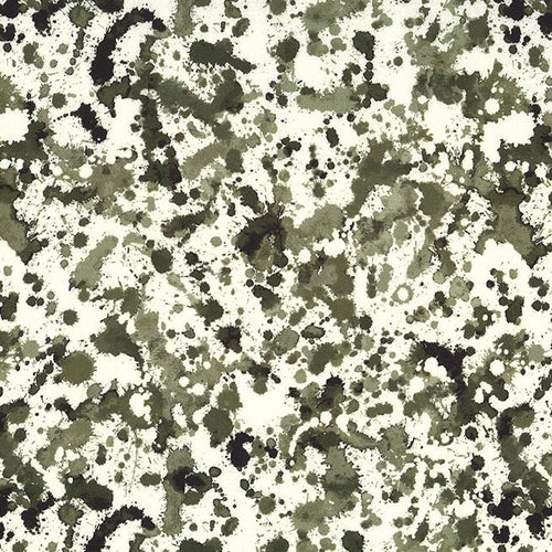 Strata -  Ink Blots Camouflage - Licence To Quilt