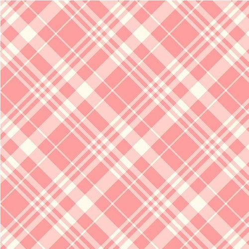 Country Cottage - Porch Plaid Peach - Licence To Quilt