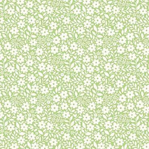 Country Cottage - Sweet Nothings Mint - Licence To Quilt