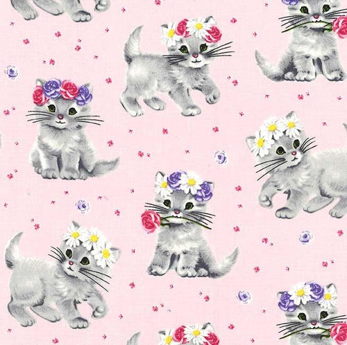 Paw Prints - Furry Princess Pink - Licence To Quilt