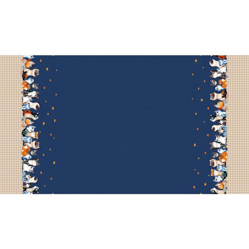 Feline Friends - Cats Border - Licence To Quilt