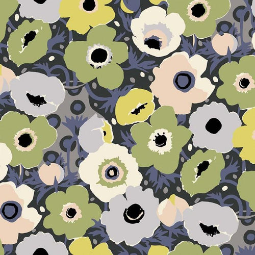 Atelier - Windflowers Olive - Licence To Quilt