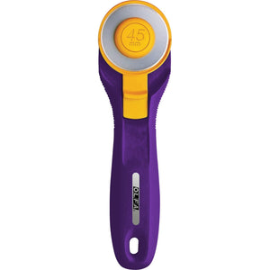 Cutter rotatif SPLASH PURPLE 45 mm - Licence To Quilt
