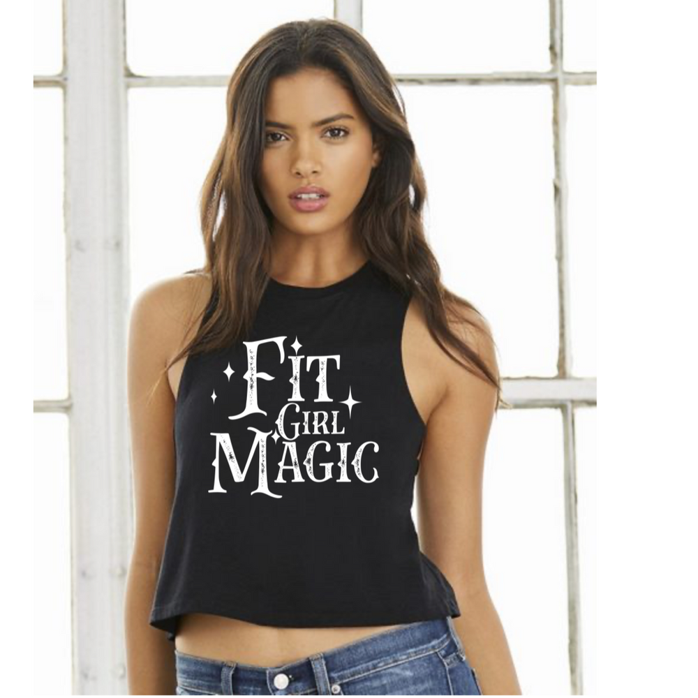 065-FIT GIRL MAGIC TEE