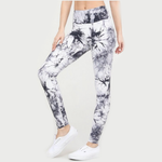 White Tie Dye Leggings