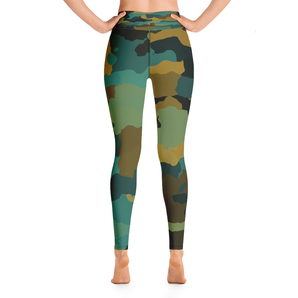 Rain Forest Camo Leggings