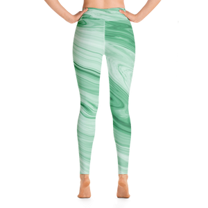 Jackie Green Marble Leggings