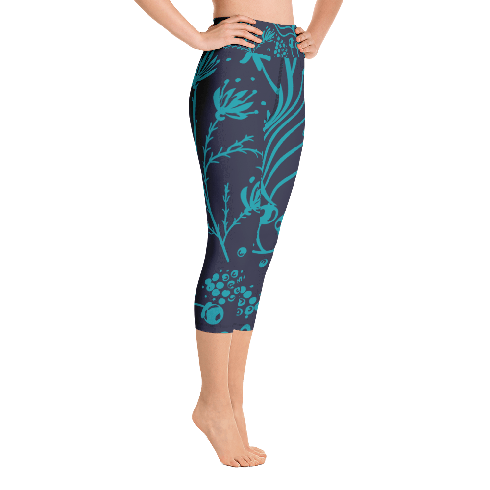 Night Life Capri Leggings