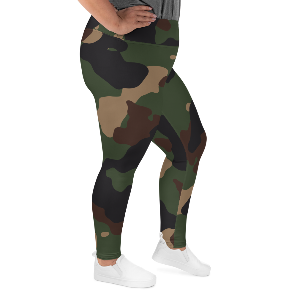 Military Camo Plus Size Leggings