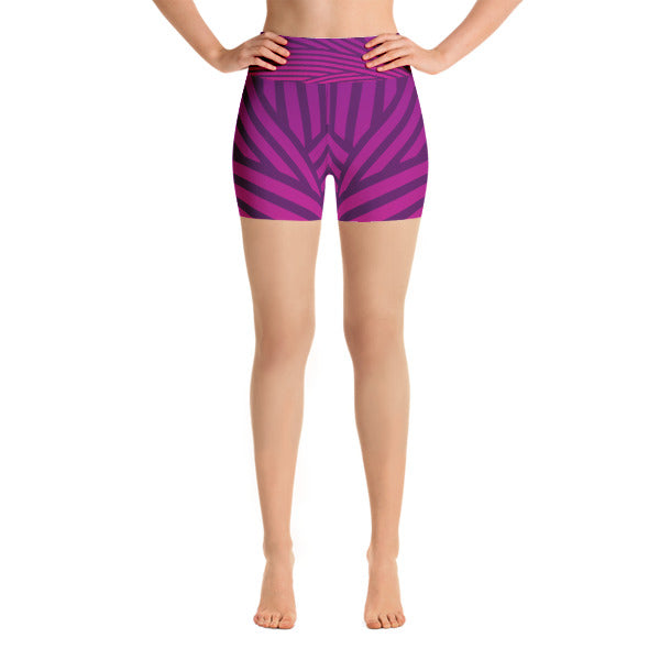 Purple Streak Shorts