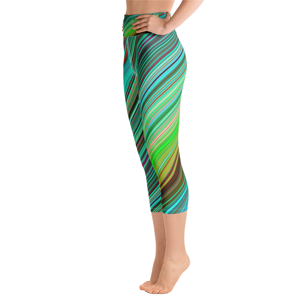 Green Line Capri Legging