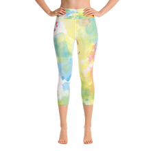 Paint Splash Capri Leggings