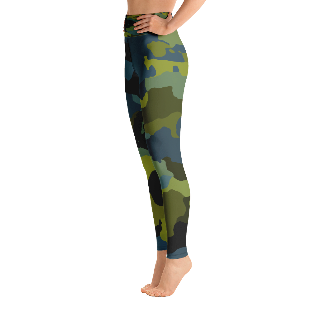 Waterway Camo Leggings