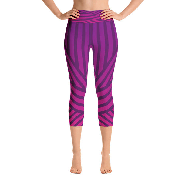 Purple Streak Capri