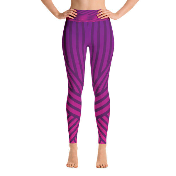 Purple Streak Legging